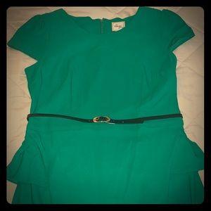 Cap sleeve stretch dress